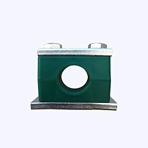 Rohrschellen, Vogueing-Werkzeug, 2 Stück Rohrschellen, Standard-metrische Kunststoff-Rohrschelle für Öl, Wasser, Gasrohrbefestigung (Außendurchmesser: 22 mm)