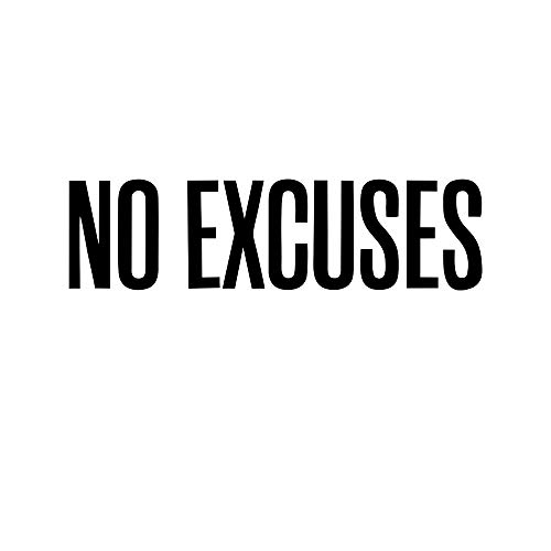 Excuse Quotes Wall Stickers Funny Art Design Sticker Removable Song Wall Wall Decor Murals for Home Bedroom Kids Girls Room Decoration