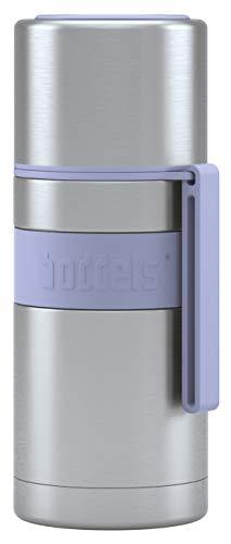 boddels Isolierflasche HEET 350 ml - Deine Thermoskanne für unterwegs (Lavendelblau)