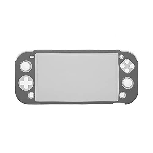 Emoshayoga Funda Protectora Funda de Silicona con Todo Incluido para la Consola de Juegos Switch Lite(Host Gray)