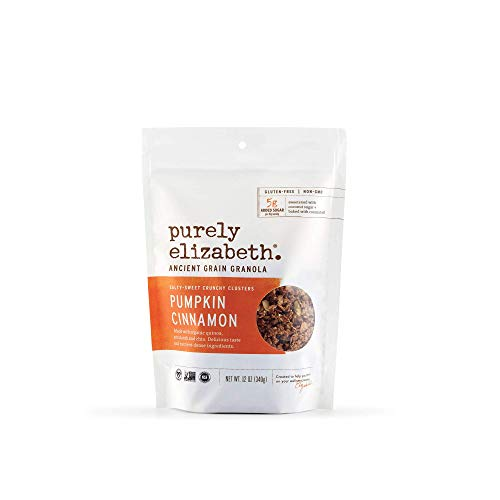 Purely Elizabeth Pumpkin Cinnamon Ancient Grain Granola 12 Ounce Bag - Single Pack