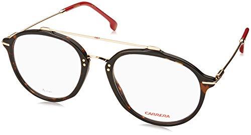 Shaded Gray Frame Carrera 6180 Eyeglass Frames CA6180-02M0-5717 Distance Lens Diameter 57mm