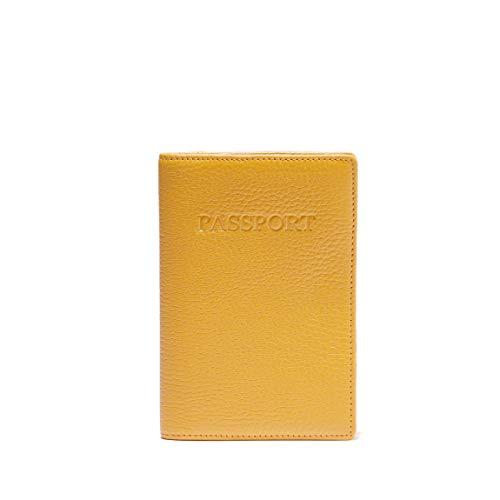 Leatherology Turmeric Standard Passport Cover