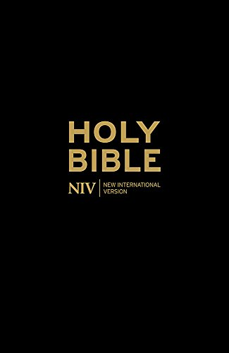 NIV Holy Bible - Anglicised Black Gift and Award (New International Version)