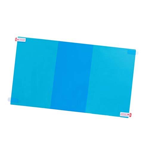 Almencla 2 Stück/Set Anti-Beschlag Folie, Autospiegel Fenster Regenschutzfolie, Auto Rückspiegel Schutzfolie, Wasserdicht - 175x200mm