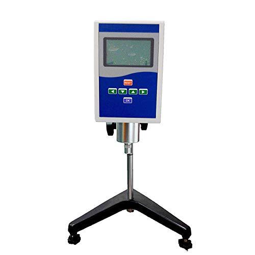 QWERTOUR Viscosímetro rotativo plástico para Pintura de Aceite Visualización del alimento Tester Digital viscosidad medidor de Capacidad de Viscosa líquida Equi Pruebas