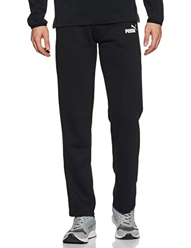 Puma ESS Logo Pants FL OP Pants Homme Puma Black FR: S (Taille Fabricant: S)