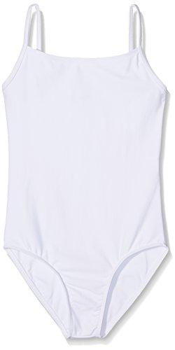 Wear Moi Diane Maillot de Body, Niños, Blanco, FR : 6 ANS (Taille Fabricant : 6-8 ANS)