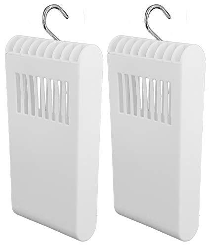 Luftbefeuchter für Heizung Set inkl. Haken - Kunststoff Wasserverdunster - weiß - Wasserverdunster verdampfer verdunster Luftreiniger (2 x Stück)