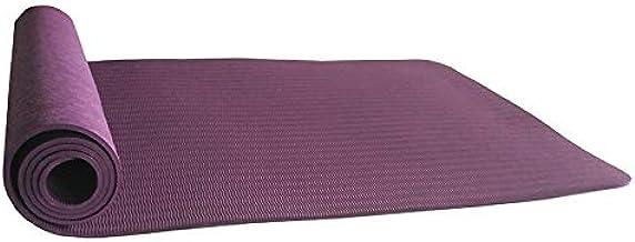 fitness gimnasia color Chakras sevas para mujeres y hombres entrenamiento 5 mm Tetera Esterilla de yoga antideslizante de TPE y corcho tama/ño peque/ño