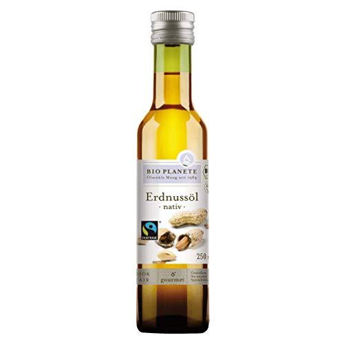Bio d'huile d'arachide nativement (Bio Planète) 250ml