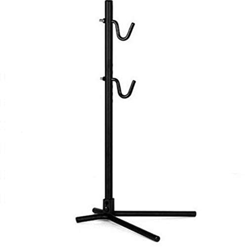 CuteLife Bike Repair Stand Bike Repair Stand Foldable Bicycle Repair Rack Workstand Repair Stand Bicycle Bike Cycle Repair Maintenance Stand for Mountain and Road Bikes (Color : Black, Size : 66cm)