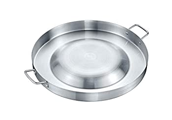 Concord Large Stainless Steel Convexed Comal Coza 21.25  Mexican Discada  21.25