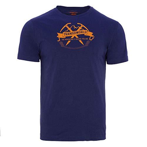 Trangoworld Baldo T-Shirt Homme, Bleu Nuit, XL