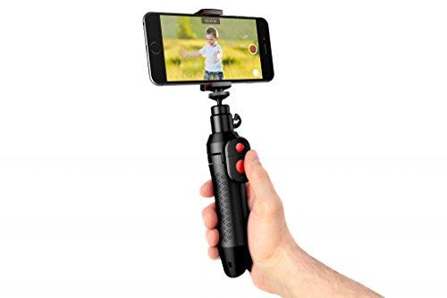 IK Multimedia - IKLIP Grip PRO I Stand Portatile per Videoregistrazioni PRO I Ultra Compatto I per Video in Alta Definizione I Professionale - Nero