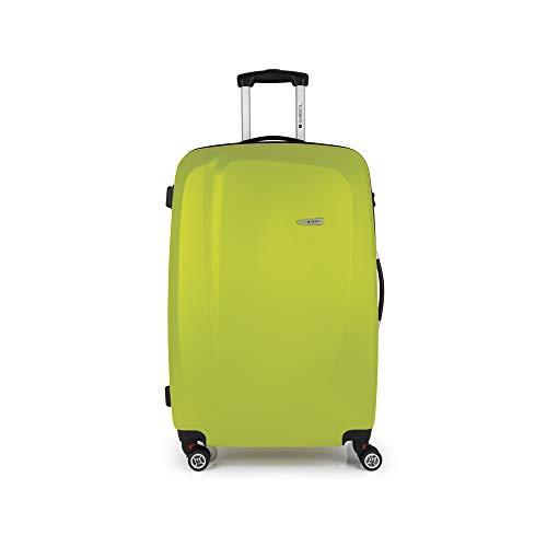Gabol - Line | Maletas de Viaje Grandes Rigidas de 49 x 76 x 29 cm con Capacidad para 90 L de Color Pistacho