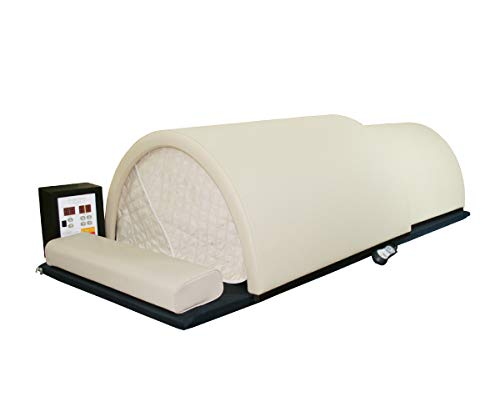 Golden Wave Meta Chamber Sauna Dome FAR Infrared 360 Degree Surround Fused Carbon & Ceramic Dry Heat