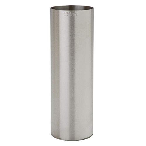 Thimble-meetbalk, roestvrij staal, 250 ml, voor wijn, dranken, jigger