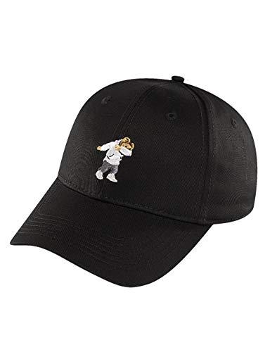 Cayler & Sons Unisex-Adult Dabbin Crew Curved Cap, schwarz, One Size, Black, Einheitsgröße