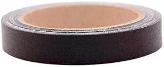 "3/4"" Black Colored Premium-Cloth Book Binding Repair Tape | 15 Yard Roll (BookGuard Brand)"