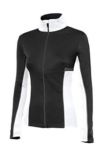 ZERORH+ Moos W Vêtement pour Femme, Femme, IND2806 94HXS, Black/White/Dark Grey, XS
