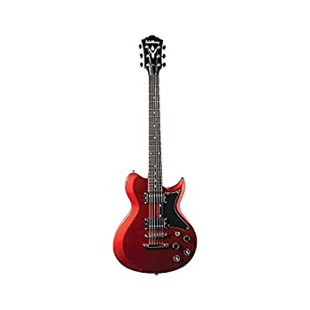 Washburn 6 String Solid-Body Electric Guitar Right Metallic Red  Other