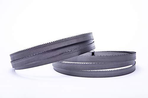 Juego de 2 hojas de sierra de cinta Encut de alto rendimiento, 1440 x 13 x 0,65 mm, 10-14 ZpZ Bimetall M42