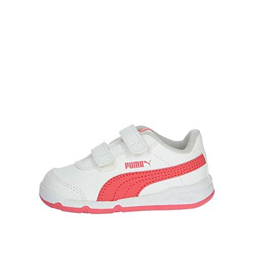 Zapatillas Deporte de Niño y Niña PUMA 192523 STEPFLEEX 09 White-Calypso Talla 24