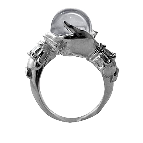 Personalized Ring Jewelry Couple Bracelet Holding Gem Shaped Ring