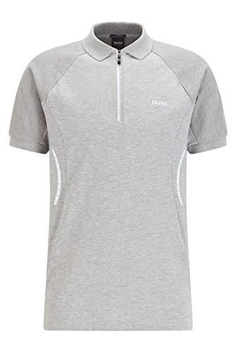 BOSS Philix 10226584 01 Camisa de Polo, Light/Pastel Grey59, M para Hombre