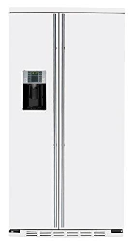 General Electric ORE 30 VGF 7W - Amerikanischer Kühlschrank / Kühlschrank side by side / Kühlschrank in Weiß Pulverbeschichtet - Freistehender Kühlschrank- Energieklasse A+ - 2 Jahre Garantie