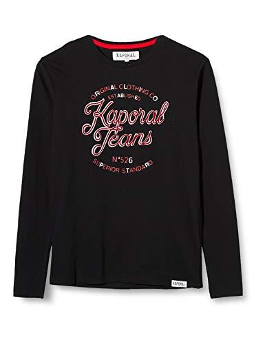 Kaporal ORNET T-Shirt Garçon, Noir, 14 ans