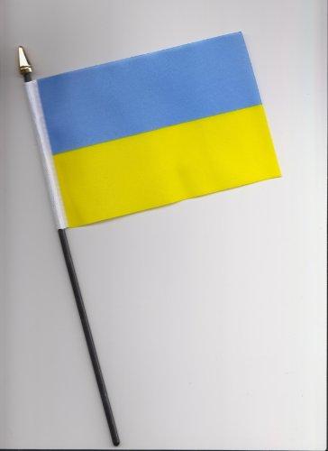 A mano 25 cm, motivo: bandiera dell'Ucraina