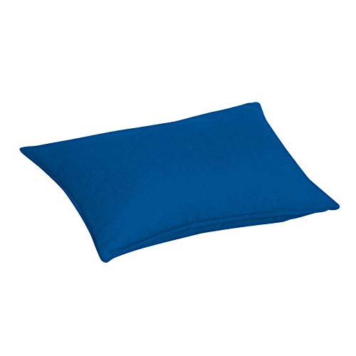 Jan Kurtz Batten Outdoor Kissen, Marine blau 100% Acryl LxB 50x30cm mit Reißverschluss