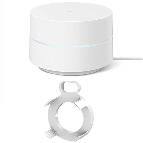 Google Wi-Fi Mesh Network System Router AC1200 Point (GA02430-US) with Deco Gear Wi-Fi Outlet Wall Mount Bundle