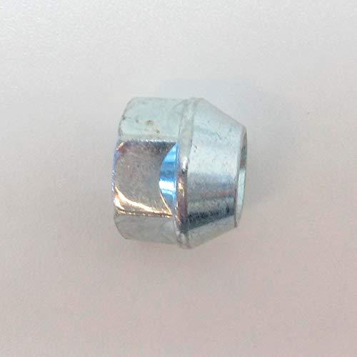 H&R 122560001 Boulon de Roue Conique M12x1.25-Longueur 60mm, Argent