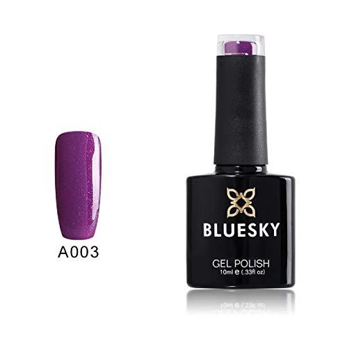 Gel Polish Nägel von BLUESKY lila pflaume Glanz Polish Gel Gel 10ml