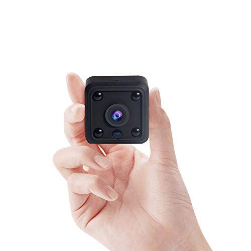 Supo ggy - Mini cámara espía WiFi Hidden Spy HD 1080P, con batería integrada de 800 mAh, grabación de vídeo y detección de movimiento