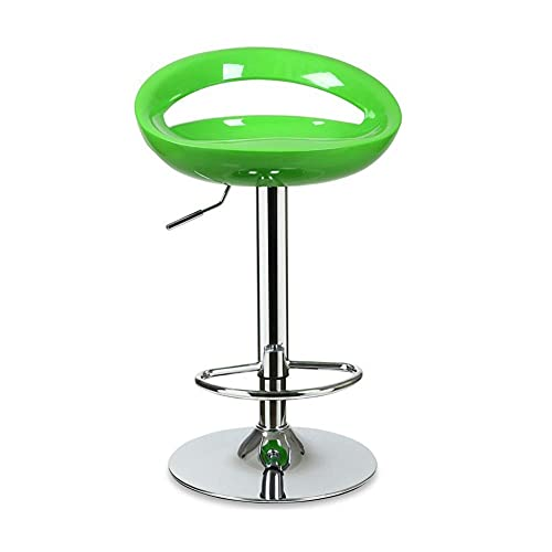 QLIGAH - Taburete de bar, taburete giratorio, taburete de bar, taburetes de bar, taburetes de bar, taburetes de metal, taburetes de bar sin respaldo, taburete giratorio, altura