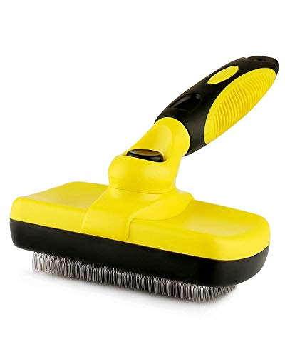Professional Self Cleaning Slicker Brush for Dogs,...