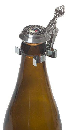 Schnabel-Schmuck Diseño de Pico-de la joyería de la Germany Botellas para Cerveza con Tapa de estaño de diseño Negro/Rojo/Oro/de Alemania y diseño de águila