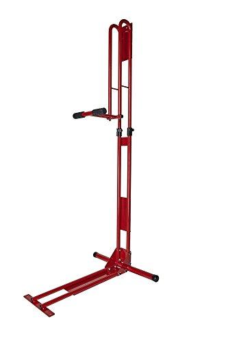 サイクルロッカー(CycleLocker) 室内用縦置き自転車スタンド クランクストッパースタンド CS-650 (RED)