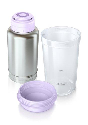 Philips Avent, Thermo-Flaschenwärmer für unterwegs, SCF256/00, 1 Stück, 1 x 250 g