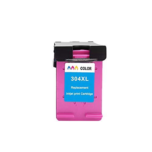 LIUYB Reemplazo de Color Negro 304XL for el Cartucho de Tinta HP304 HP 304 XL for Deskjet 2630/2632/2633 Envy 5020/5030/5032/5034/5052 Impresora (Color : 1Color)