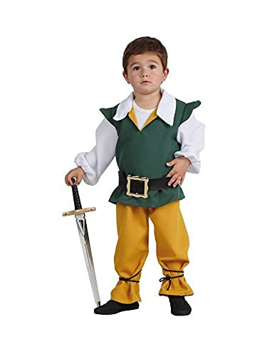 DISBACANAL Disfraz de Sancho Panza Infantil - 2 ao
