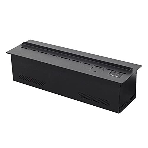 Chimeneas Eléctricas 32 pulgadas Chimenea eléctrica □ Freestanding incorporado calentador de chimenea remoto con control remoto □□ Llama de registro ajustable estufa