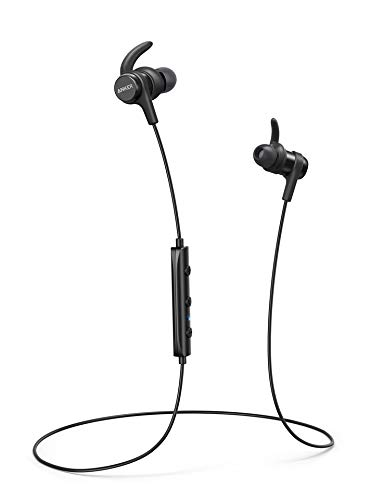 Anker SoundBuds Flow Outdoor Activity Style Sports Bluetooth Wireless Earbuds, Water-Resistant Earbud Headphones with Microphone