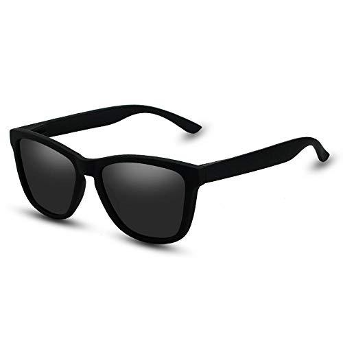 Wijider Gafas De Sol Hombres,Gafas De Sol Polarizadas De Moda Hombres Mujeres Gafas De Sol Cuadradas Masculinas Pesca Gafas Femeninas Zonnebril Heren Uv400 D
