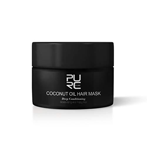 Kousa Hair Roots Treatment Coconut Flavor Hair Mask Steam-free Nutrimental Hair Mask Soft Conditioner 50ml