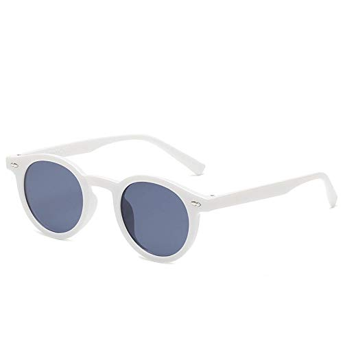 Gafas de Sol Gafas De Sol con Montura De Pc para Mujeres, Hombres, Anteojos Redondos, Diseñador De Lujo, Vintage, Retro, De Moda, Gafas Al Aire Libre 2
